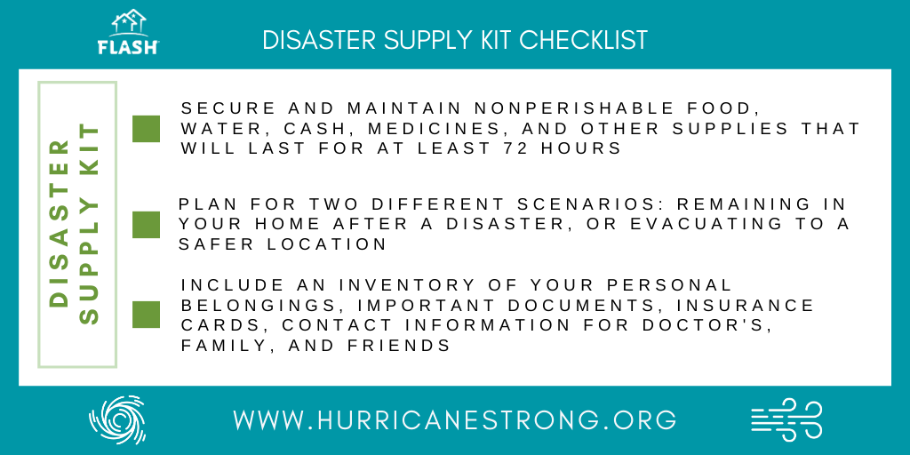 5-27-20 Disaster Supply Checklist Graphic Final
